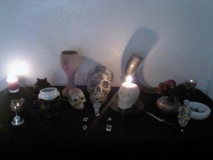 2013 Samhain Altar